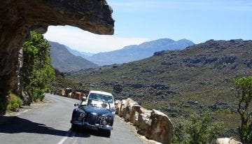 South Africa Driving Tour with Classic Travelling = Bainskloof Pass