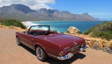 South Africa Driving Tour with Classic Travelling - R44
