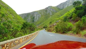 South Africa Driving Tour with Classic Travelling - Tradouw Pass