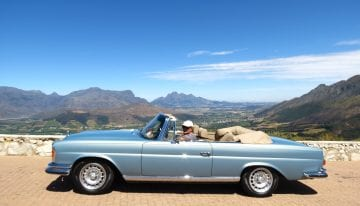 South Africa Driving Tour with Classic Travelling - Franschhoek Pass