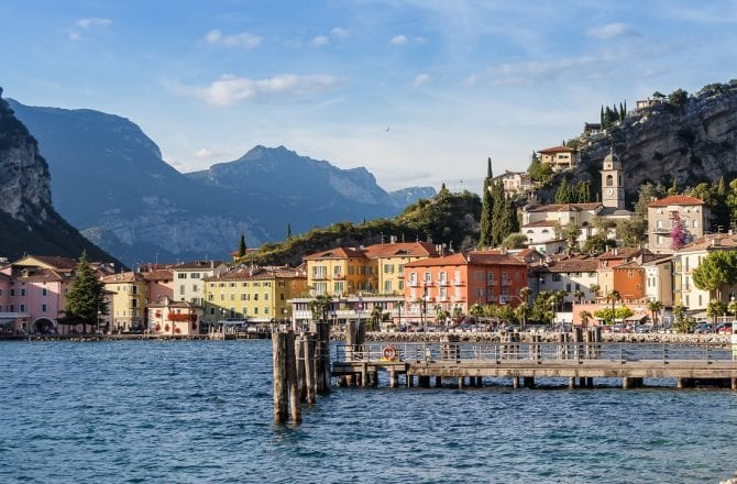 Italian Lakes: Lake Garda, Riva del Garda