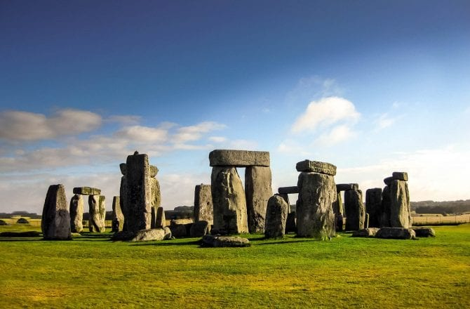 Hampshire, Wiltshire & Stonehenge driving tour