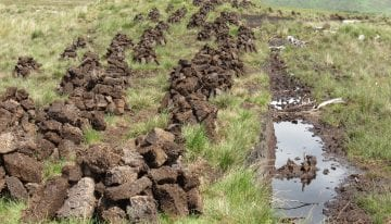 Digging for Peat in Ireland