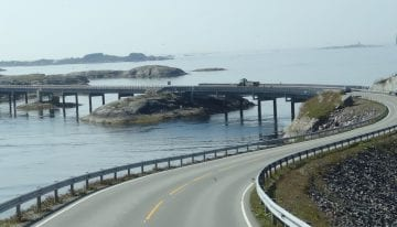 Norway Driving Tour - Atlantic Road