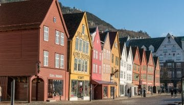 Classic Travelling Norwegian Fjords Tour - Bryggen, Bergen