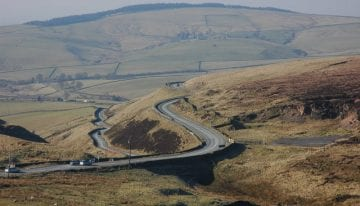 Cat & Fiddle Peak District driving tour