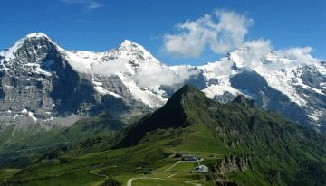 Classic Travelling Swiss Alps Tour
