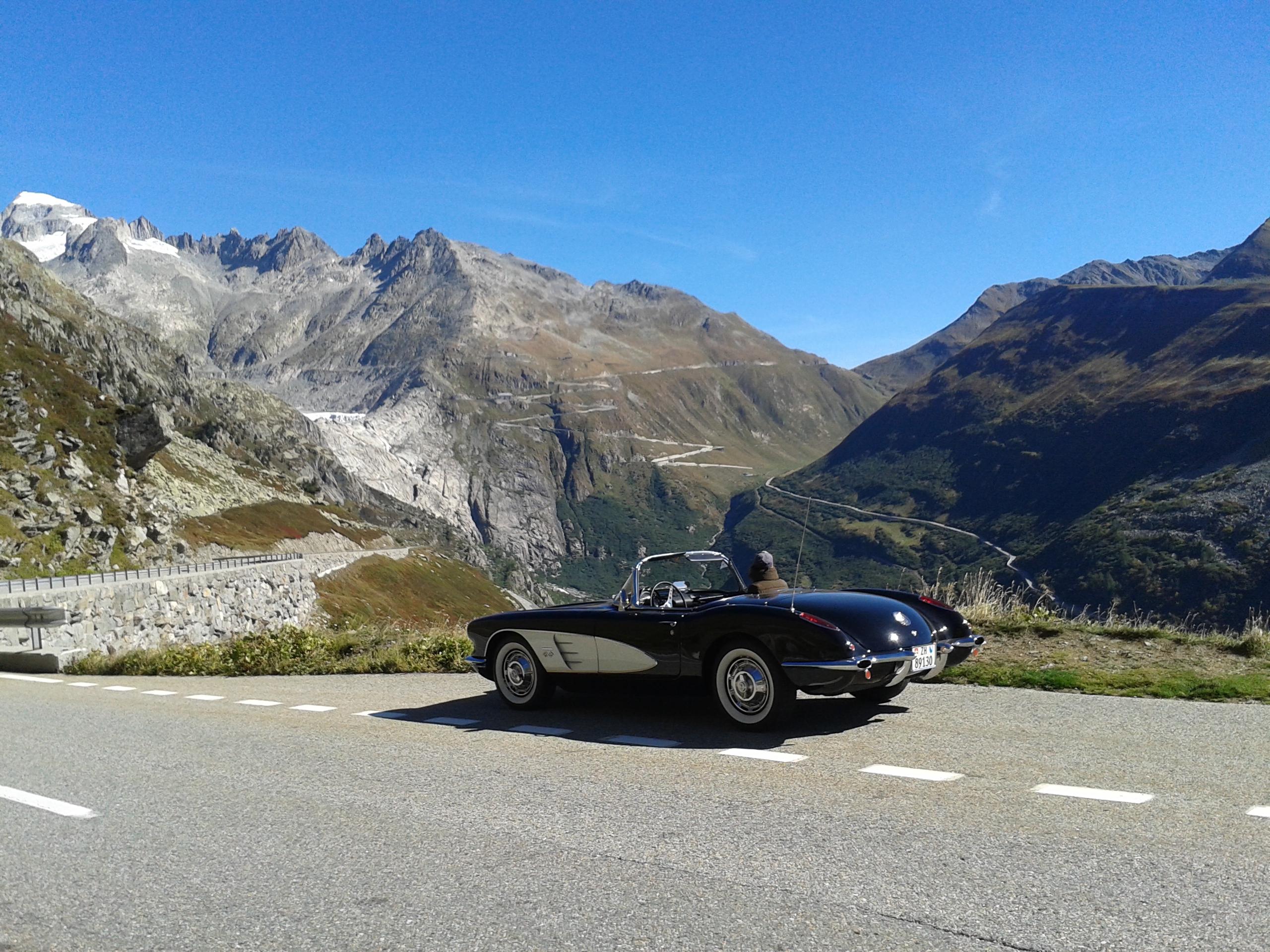 Classic Car Tour in Switzerland