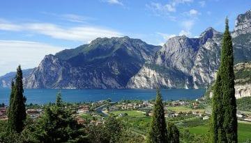 Lake Garda in summer