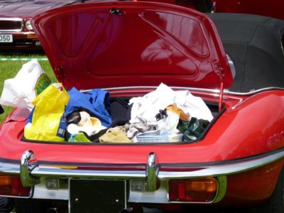 How NOT to pack a car