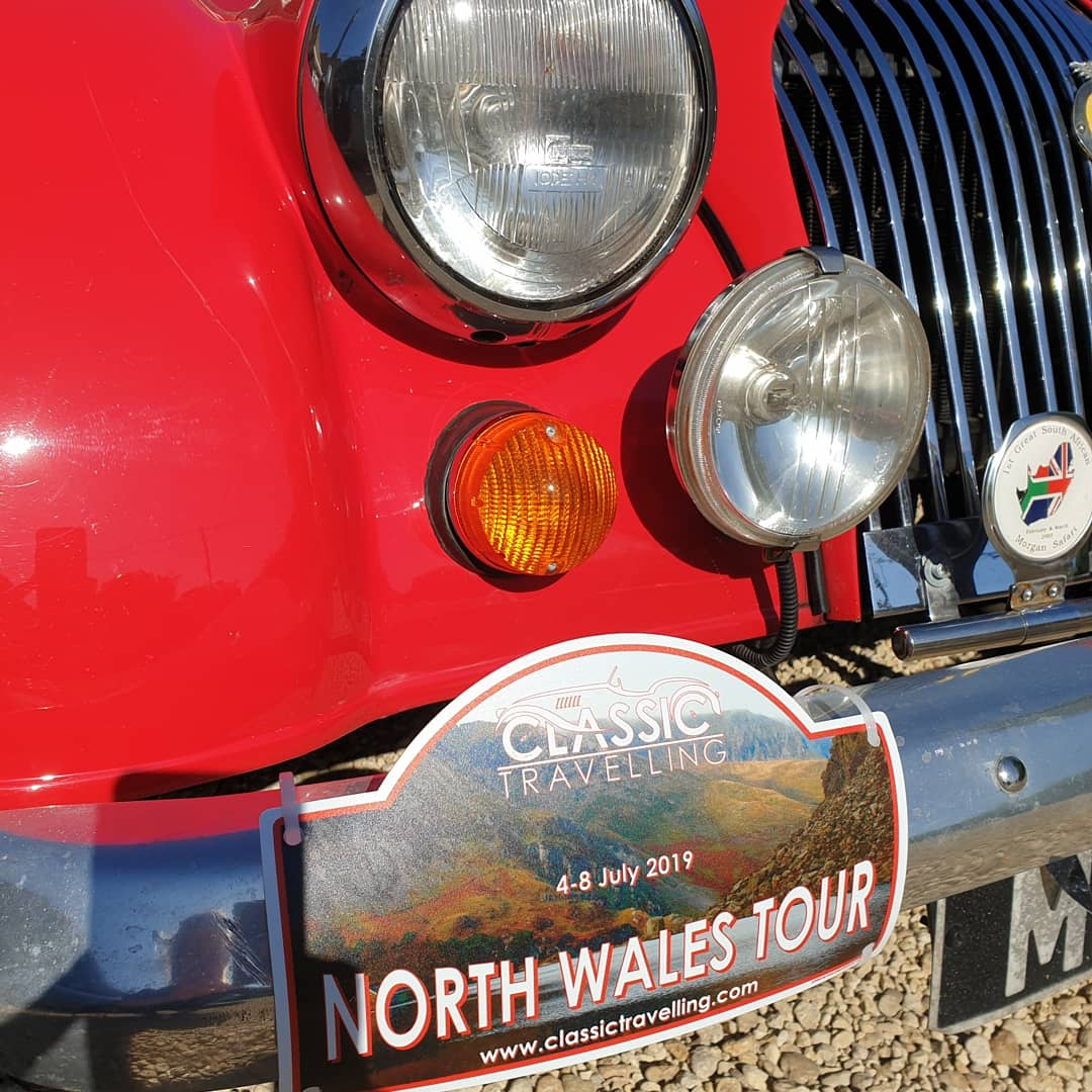 North Wales Classic Car Tour Photo Gallery